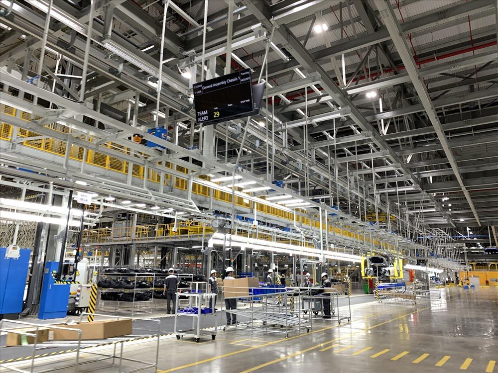 Tổ hợp sản xuất ô tô VINFAST - Xưởng EBUS