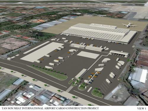 Nhà ga hàng hóa sân bay Tân Sơn Nhất - Air Cargo
