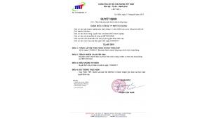 Thông báo về việc thành lập phòng Hành chánh Tổng hợp